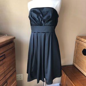 NWT BCBG Black Cocktail Dress Optional Straps